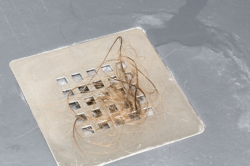 clogged drain in Gastonia, NC